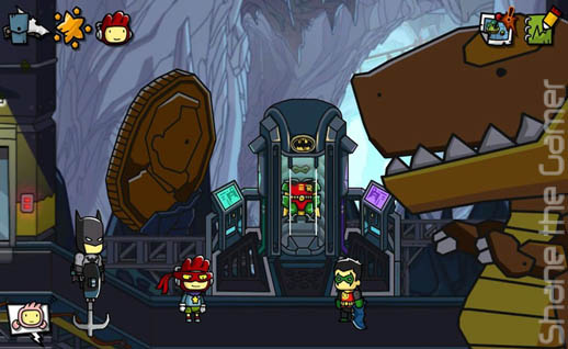 Scribblenauts DC Comics Announcement