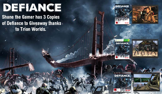 Defiance Giveaway Promo