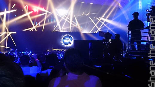 Electronic Arts' announcements were like a Rock Concert.