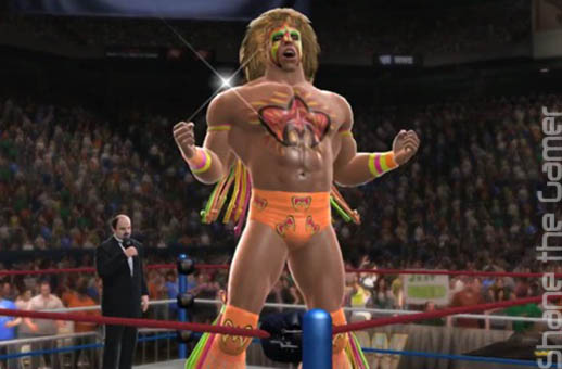 Ultimate Warrior WWE 2K14 Announcement