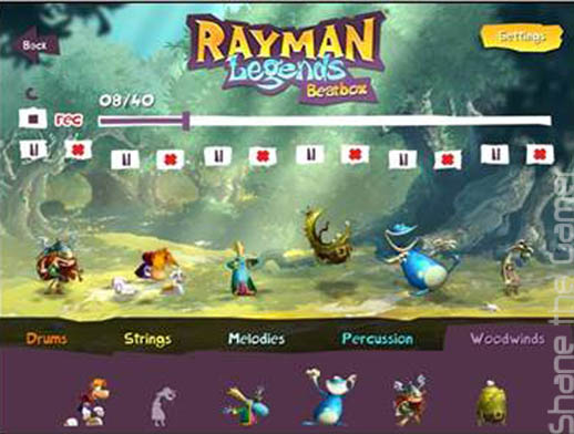 Rayman Legends Beatbox App