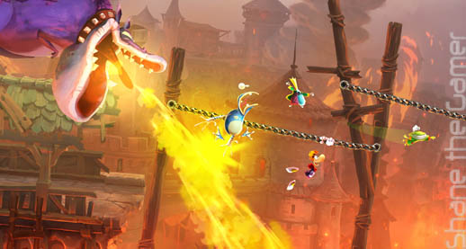 Nintendo Easter Eggs in Rayman Legends - News