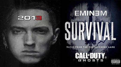 COD Ghosts & Eminem Announcement