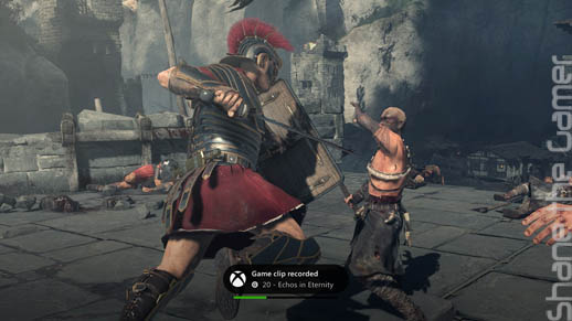 Ryse Son of Rome Footage Record