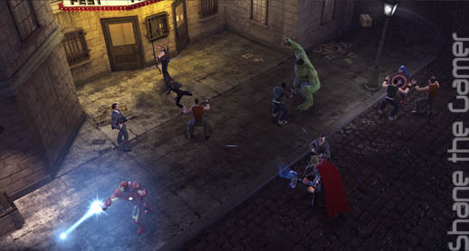 Marvel Superheroes MMO