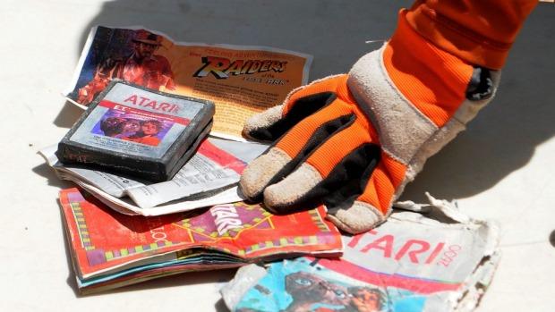 Atari E.T. Excavation