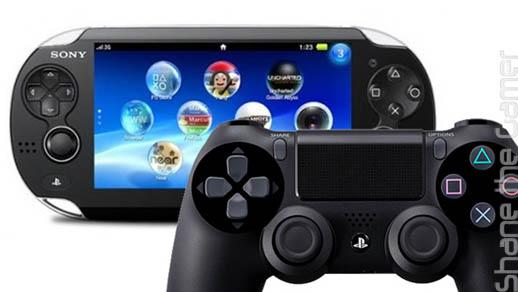 PS Vita w. PS4 Controller