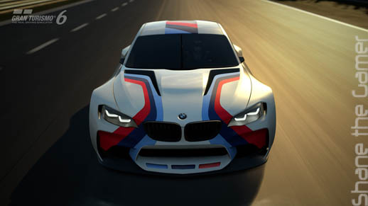 BMW Virtual Car GT6