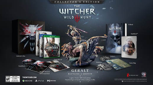 Witcher - Wild Hunt - Collectors Edition