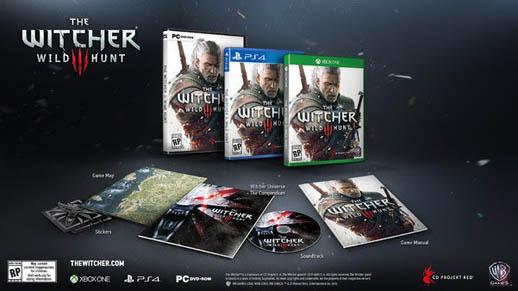 Witcher - Wild Hunt Standard Edition