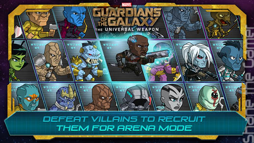 Guardians of the Galaxy App