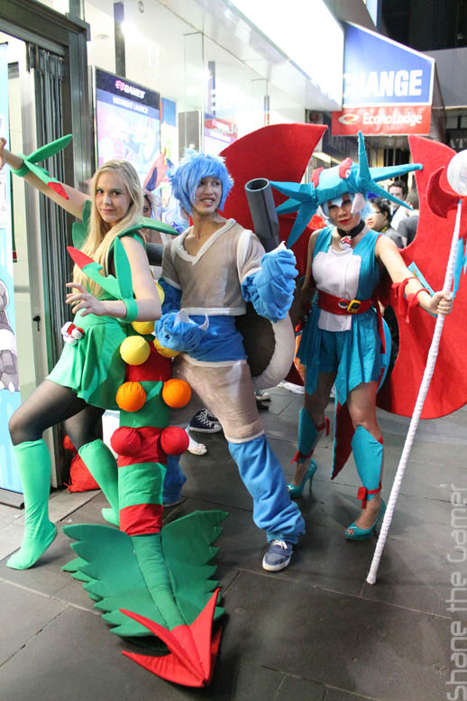 Cosplayers @ The Nintendo Experience Melbourne