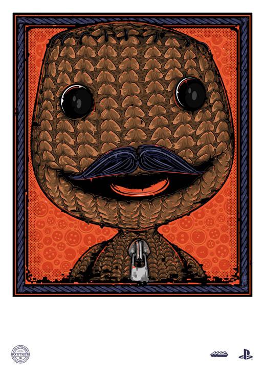 Sackboy Movember 2014