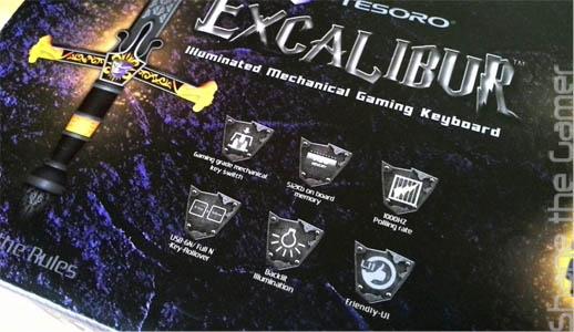Tesoro Excalibur G7NL