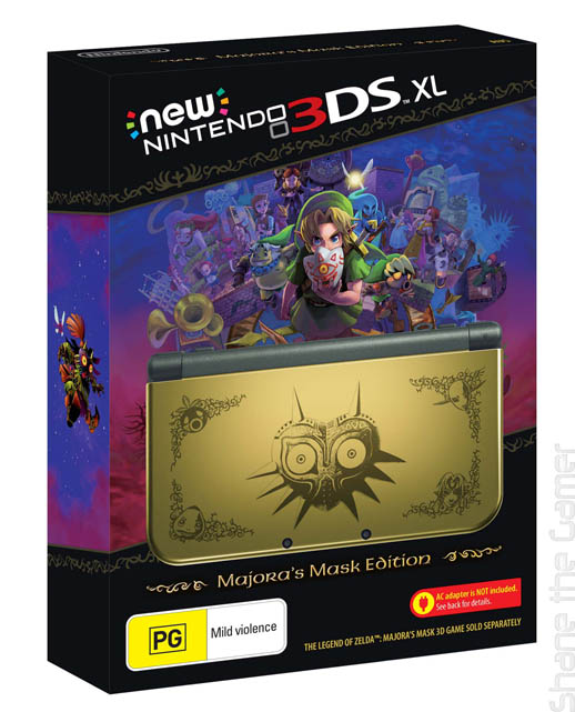 New Nintendo 3DS XL Majoras Mask Edition