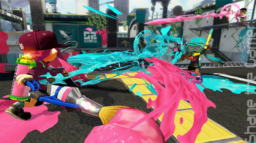 Splatoon Battle
