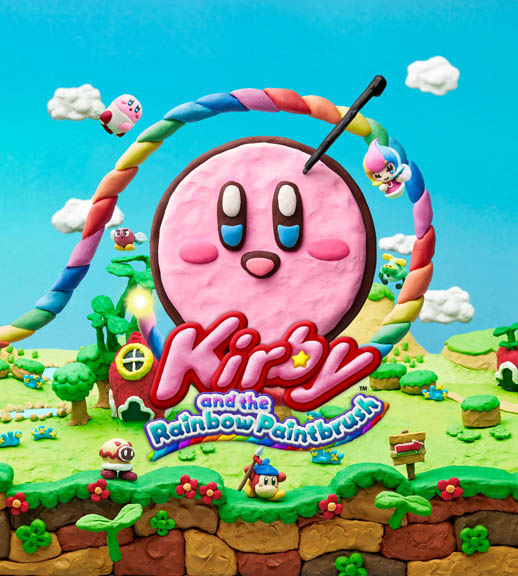 Kirby and the Rainbow Brush