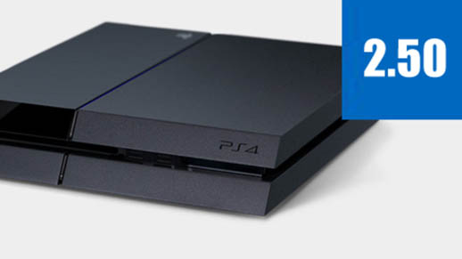 PlayStation 4 Gets 2.5 Update