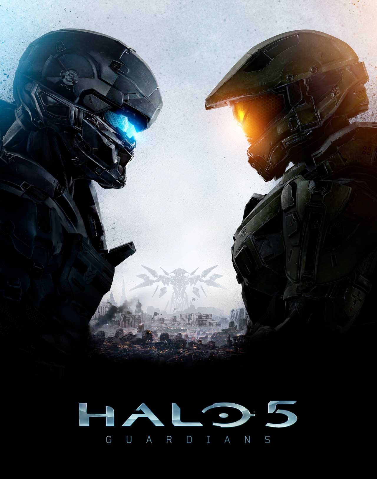Halo 5 Official Cover Art