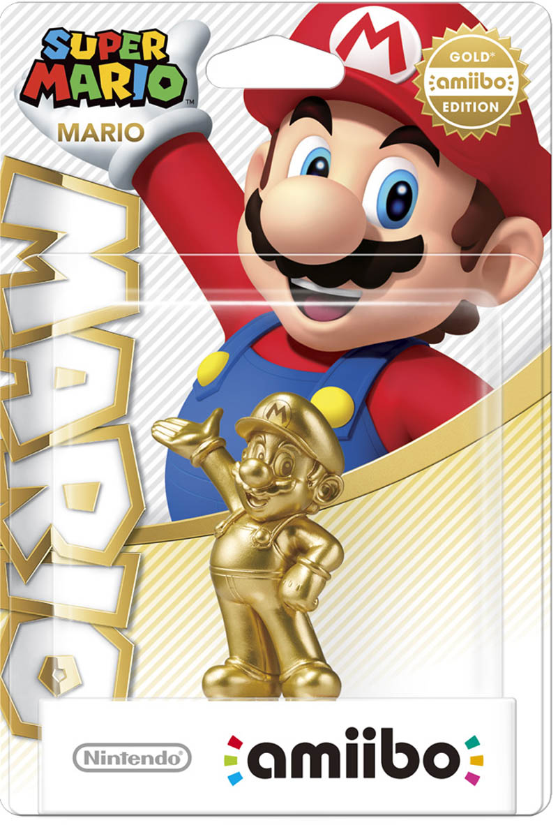 Mario - Gold Edition amiibo