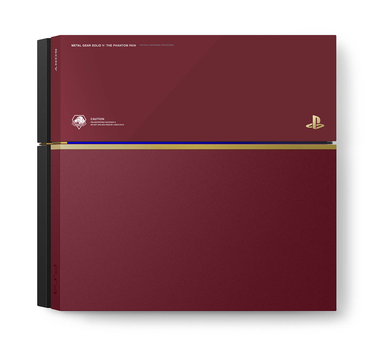 Ltd Edition MGSPP PS4 Console