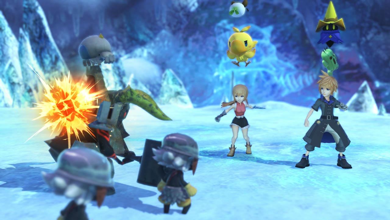 World of Final Fantasy PS4 and Vita