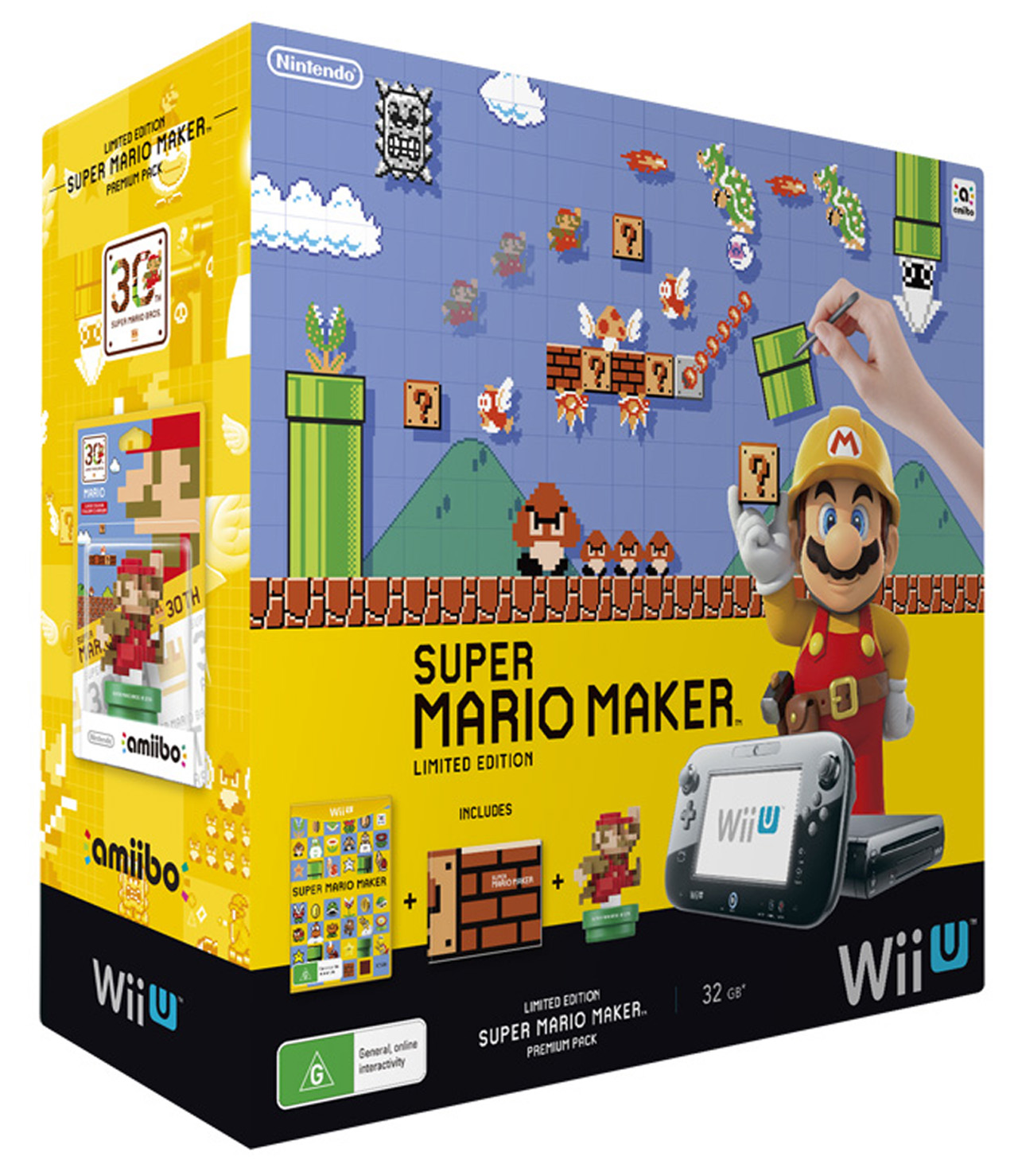 Super Mario Maker Wii U Premium Pack