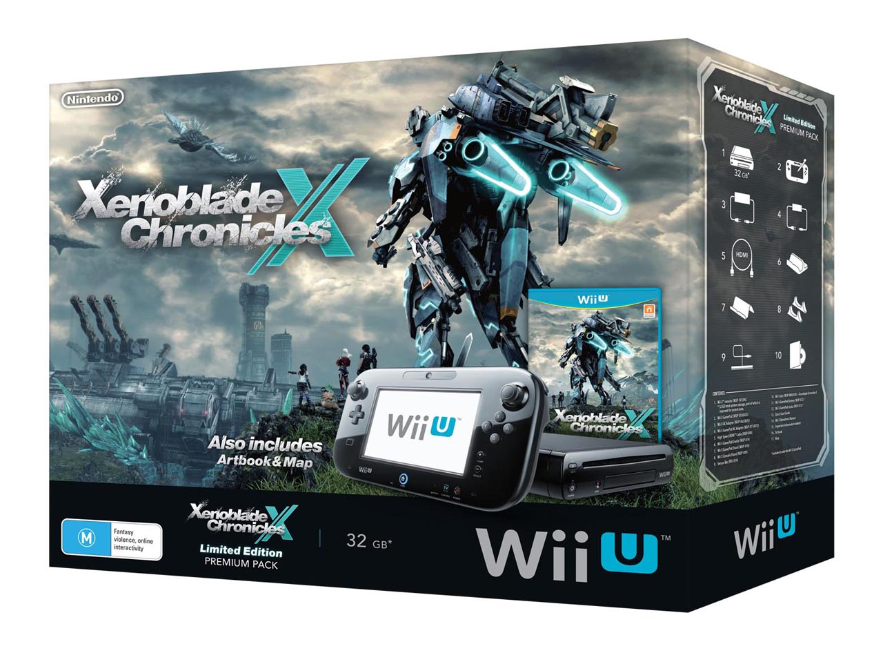 Xenoblade Chronicles X Limited_ Edition Wii U Premium Pack