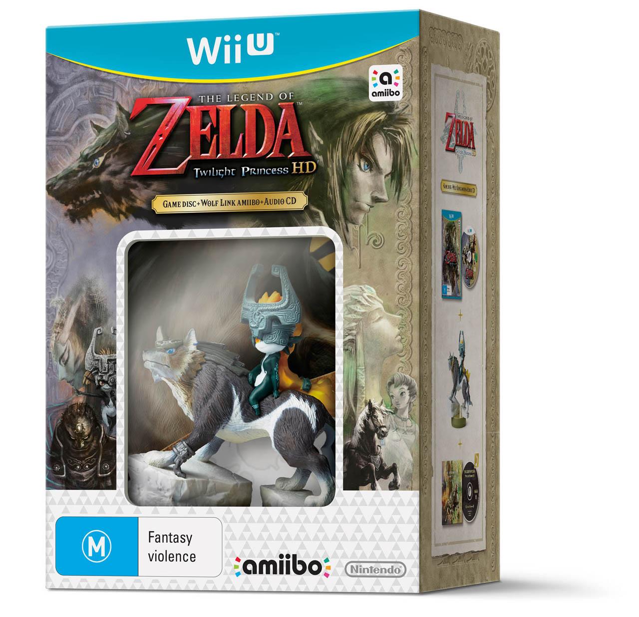 The Legend of Zelda Twilight Princess HD Bundle