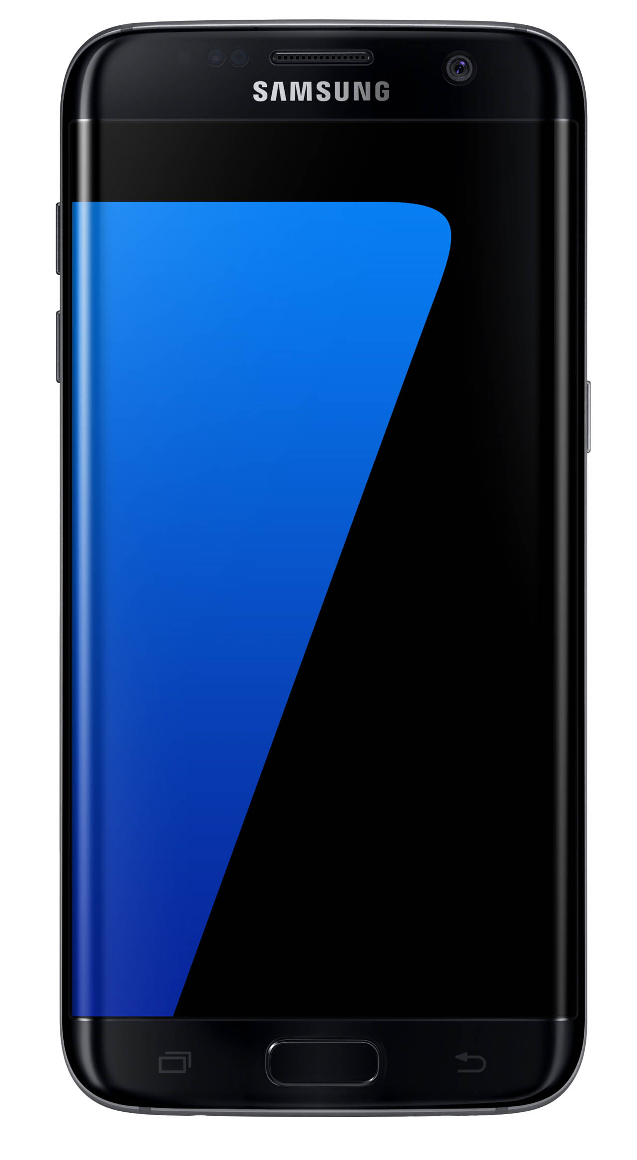 Galaxy S7 edge Black Onyx Front