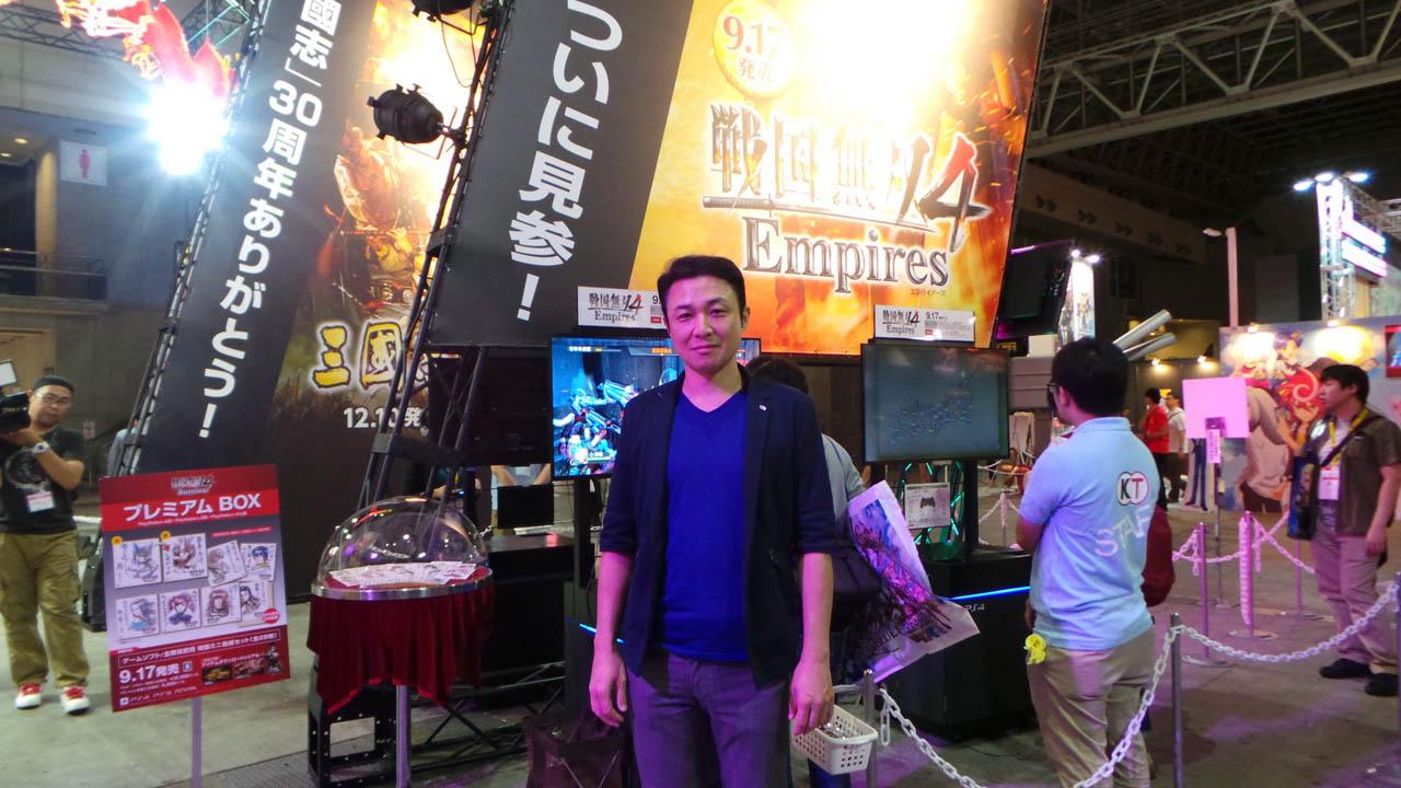 Osamu Mieda - Producer / Director | Samurai Warriors 4-II