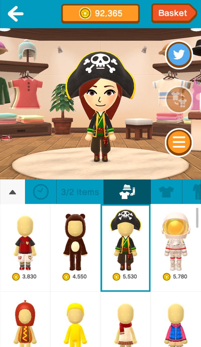 Miitomo - Pirate Costume