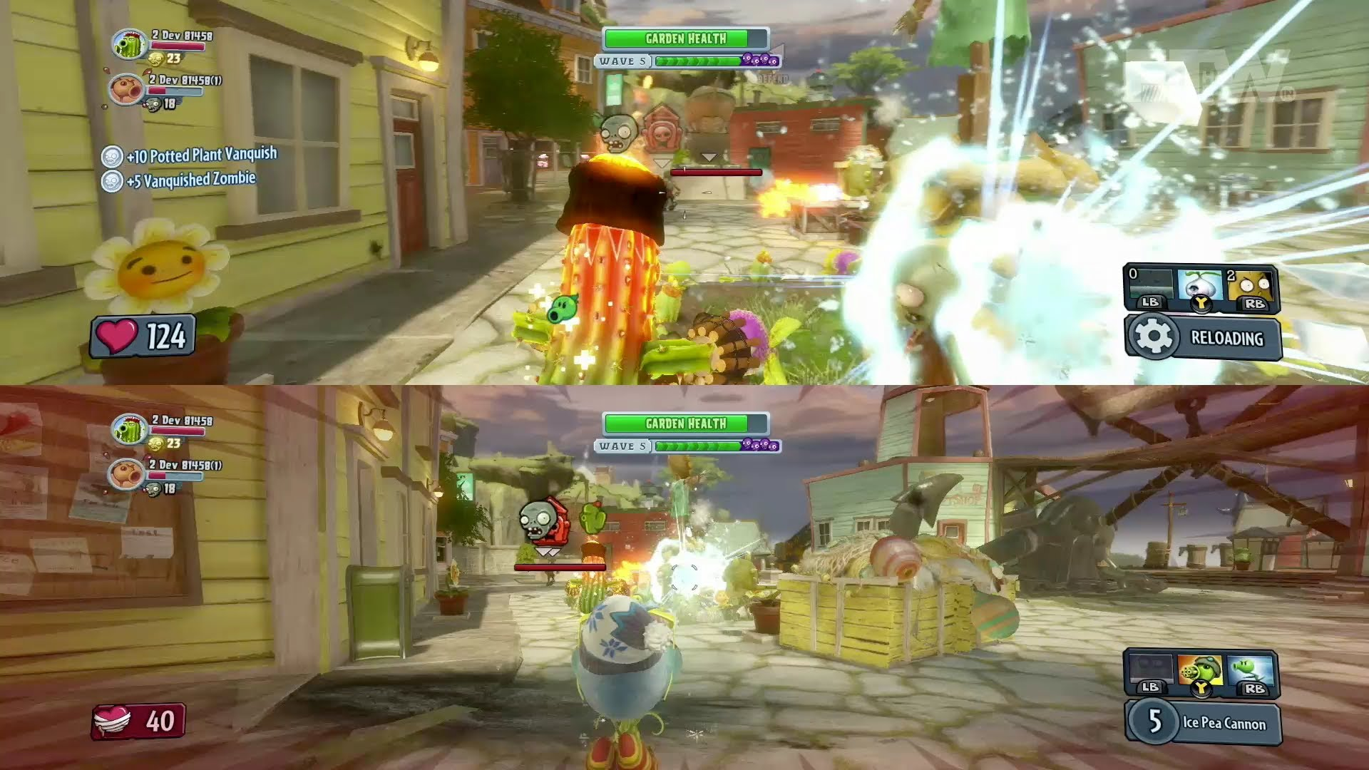 Plants Vs Zombies Garden Warfare 2 Xbox One Review Stg