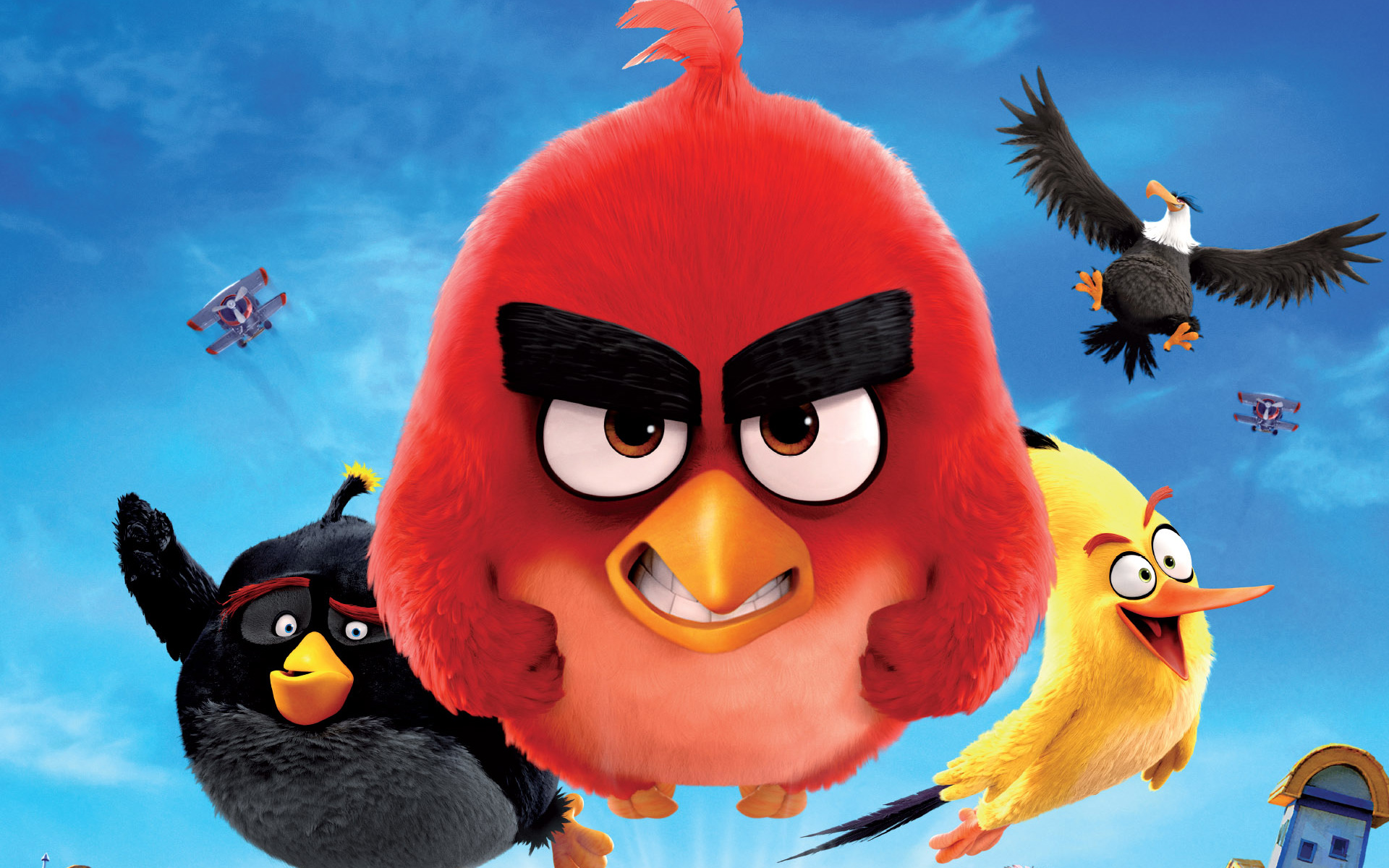 angry birds the movie sony pictures 2016 review