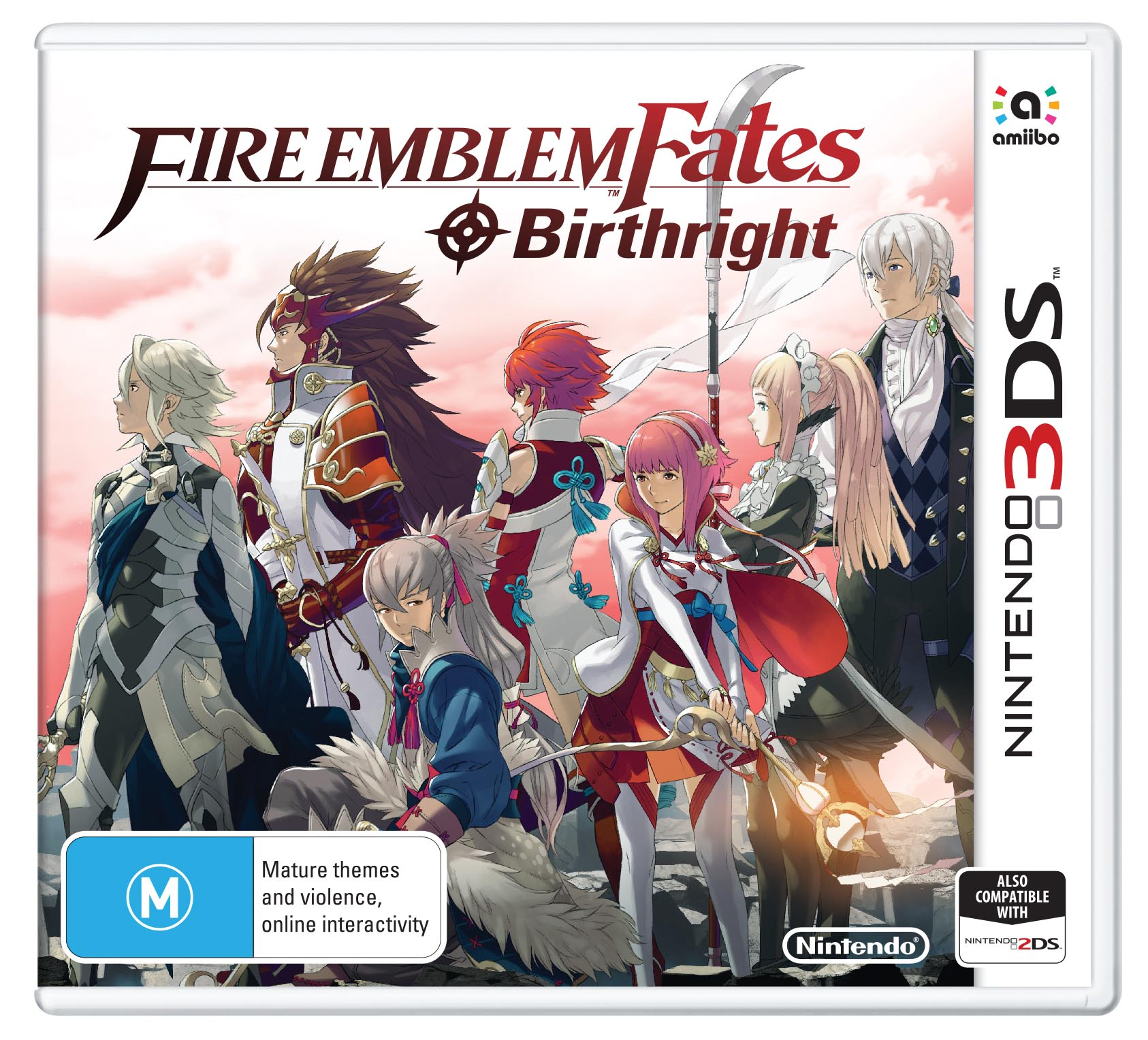 Fire Emblem Fates Birthright packshot