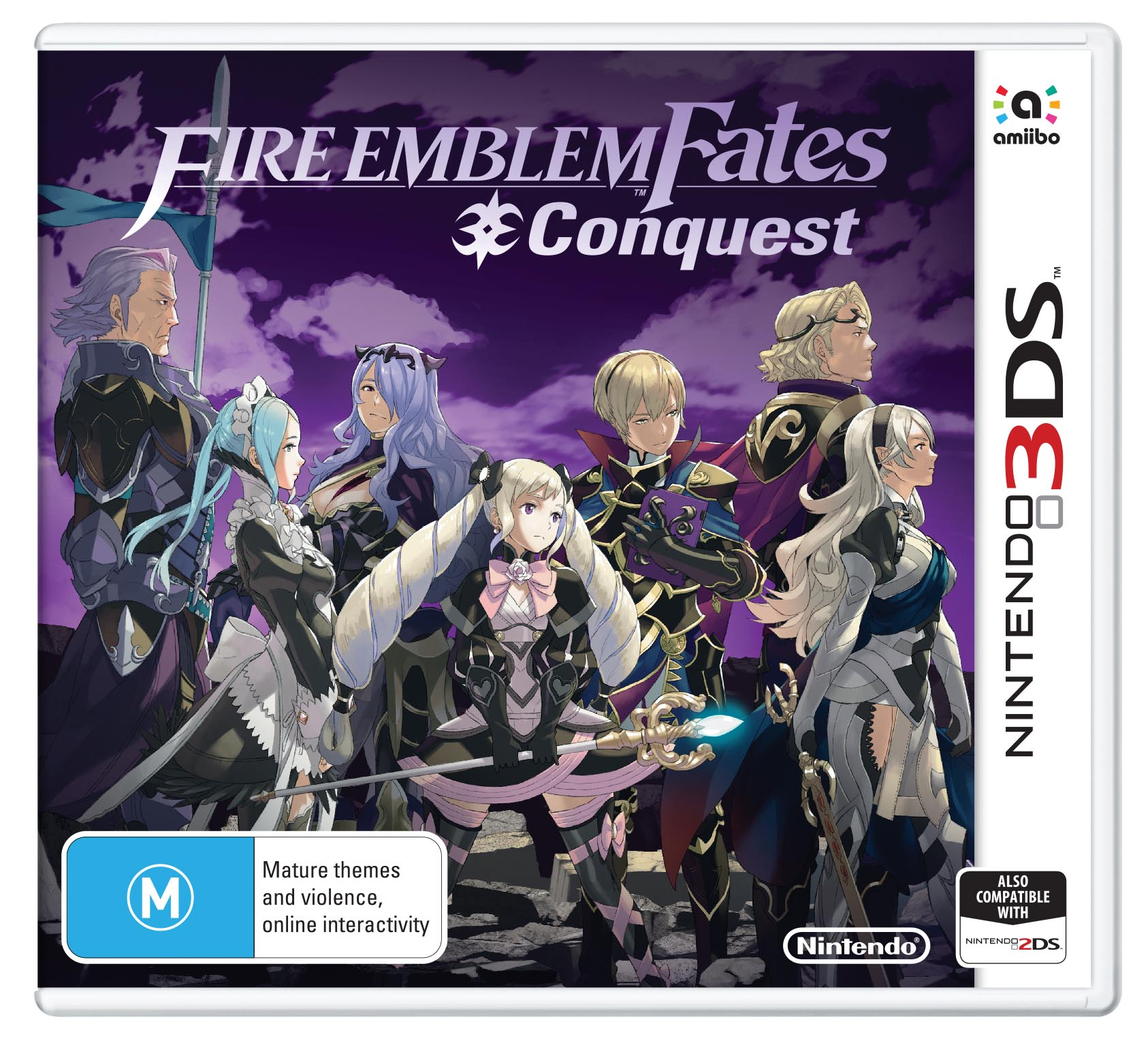 Fire Emblem Fates Conquest packshot