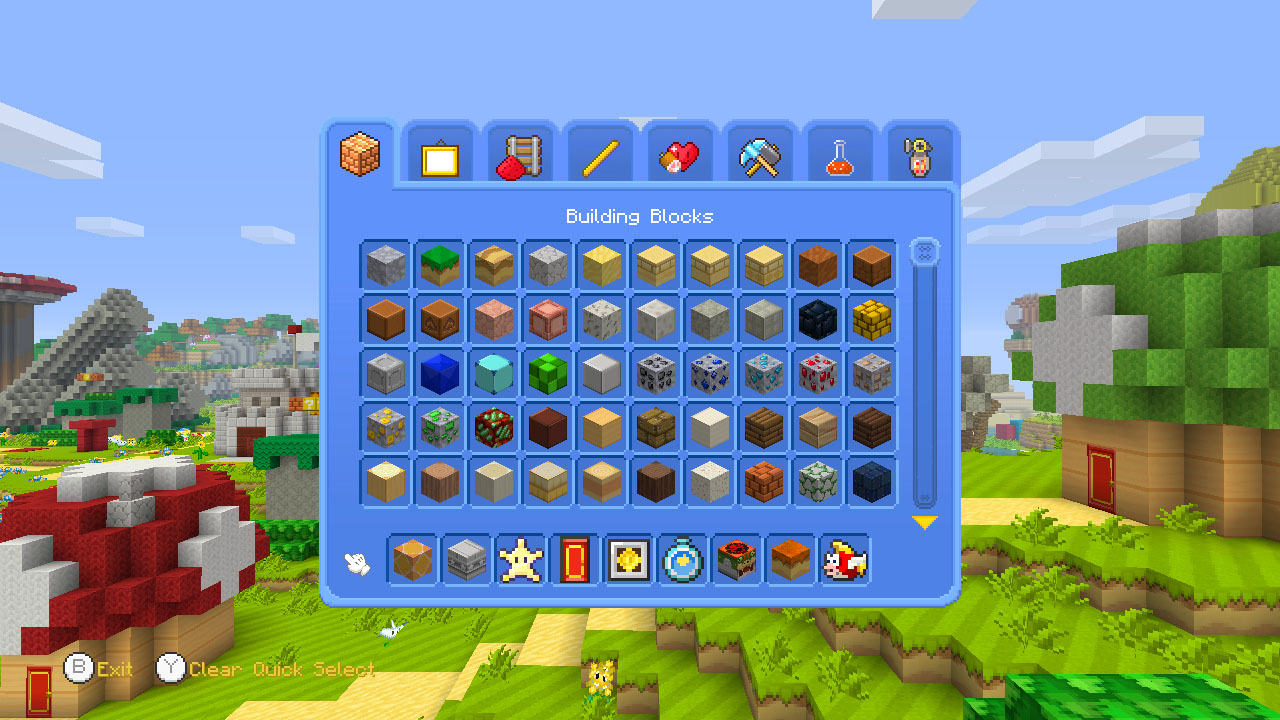 Minecraft_WiiU_MashupPack_Mario_Screenshot_Blocks