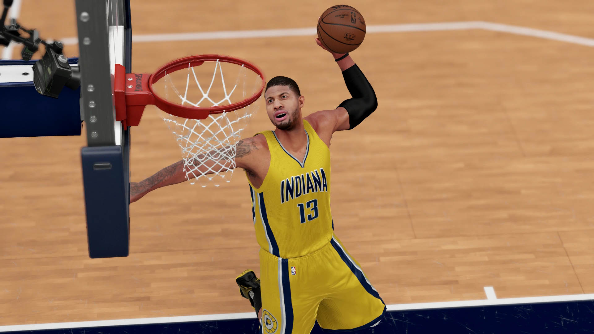 7aac9359e624 NBA Superstar Paul George Graces Cover of NBA 2K17 – STG