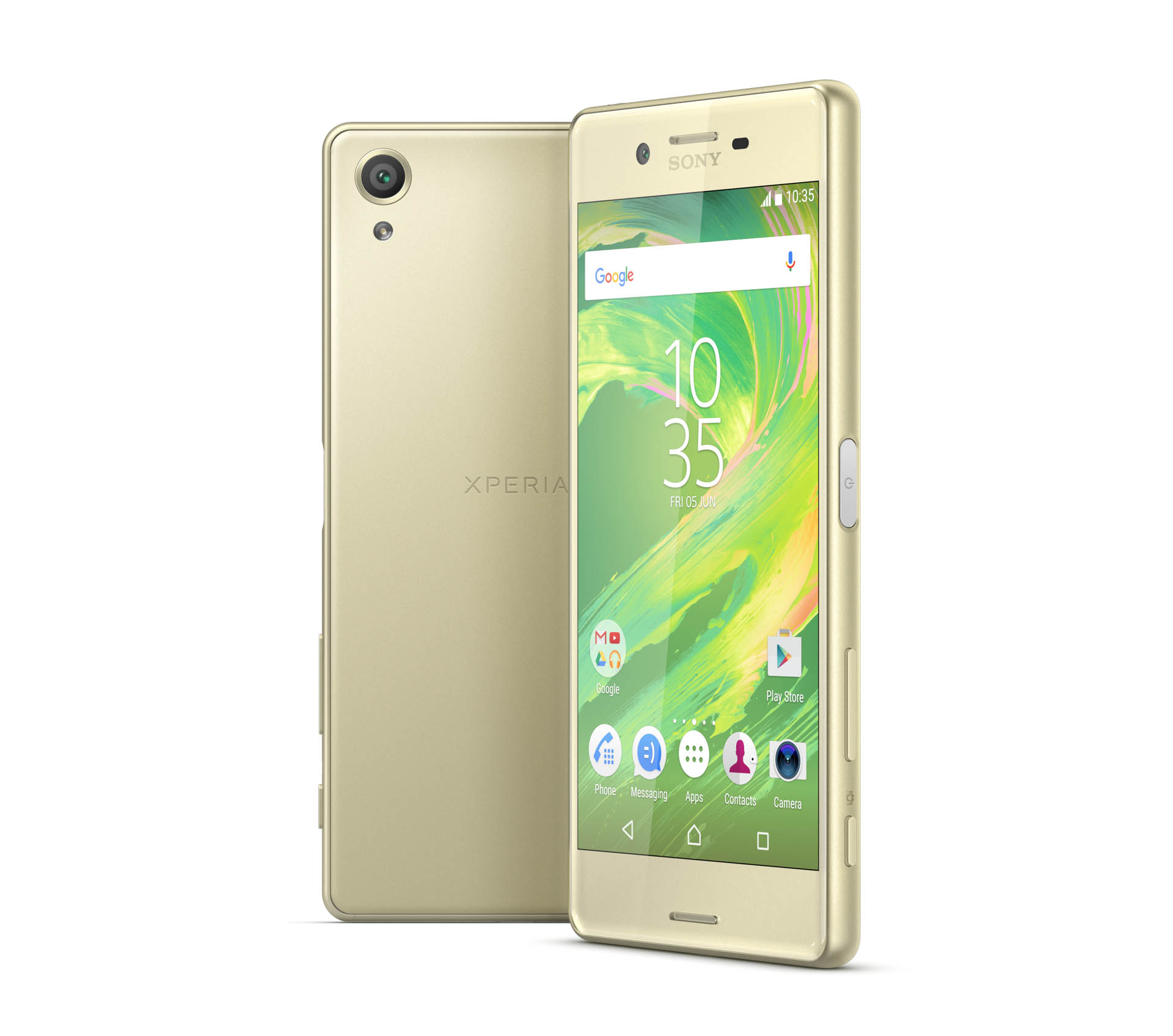 xperia-x_lime-gold-2