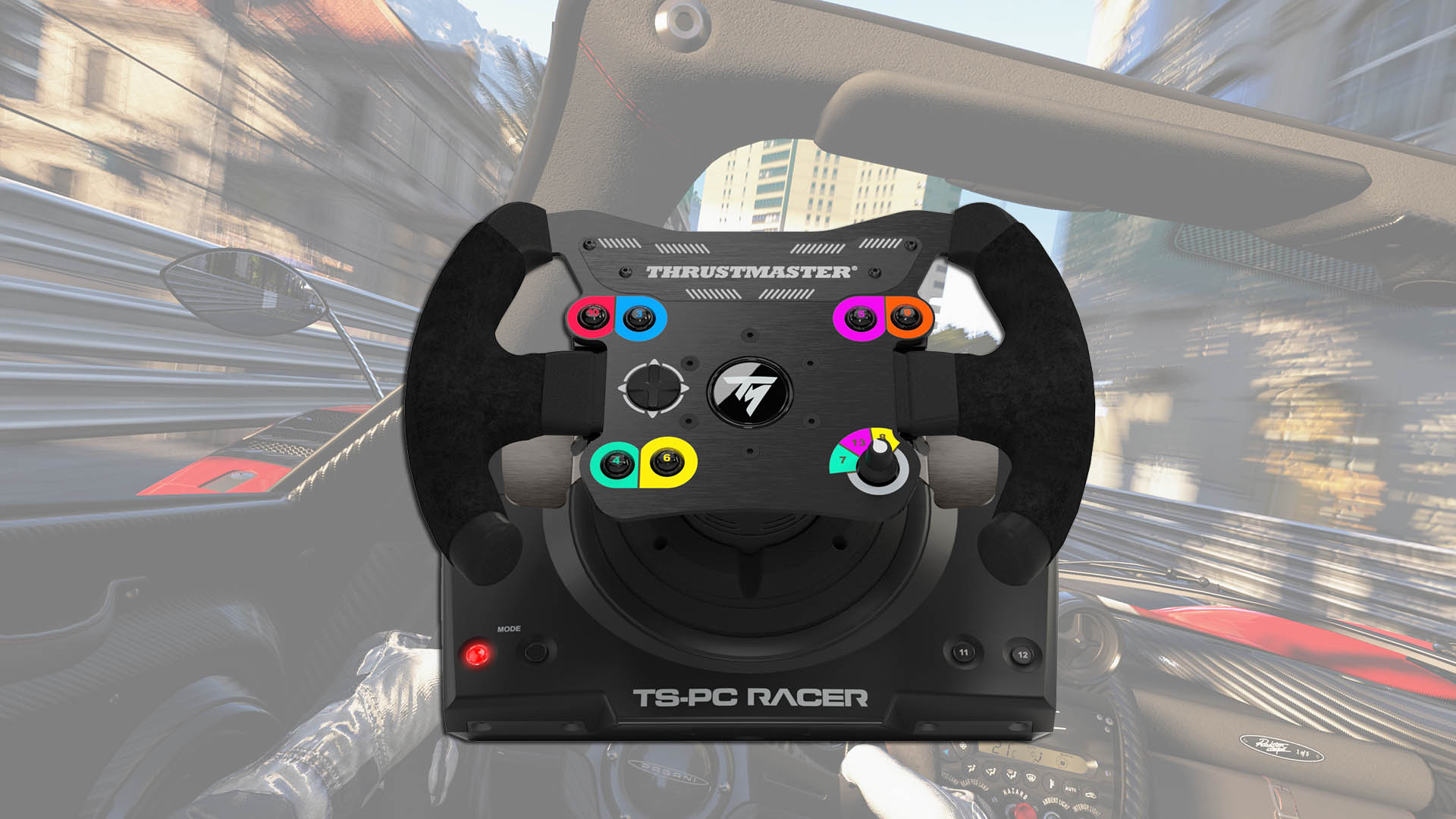 thrustmaster ts pc racer kit review stg. Black Bedroom Furniture Sets. Home Design Ideas