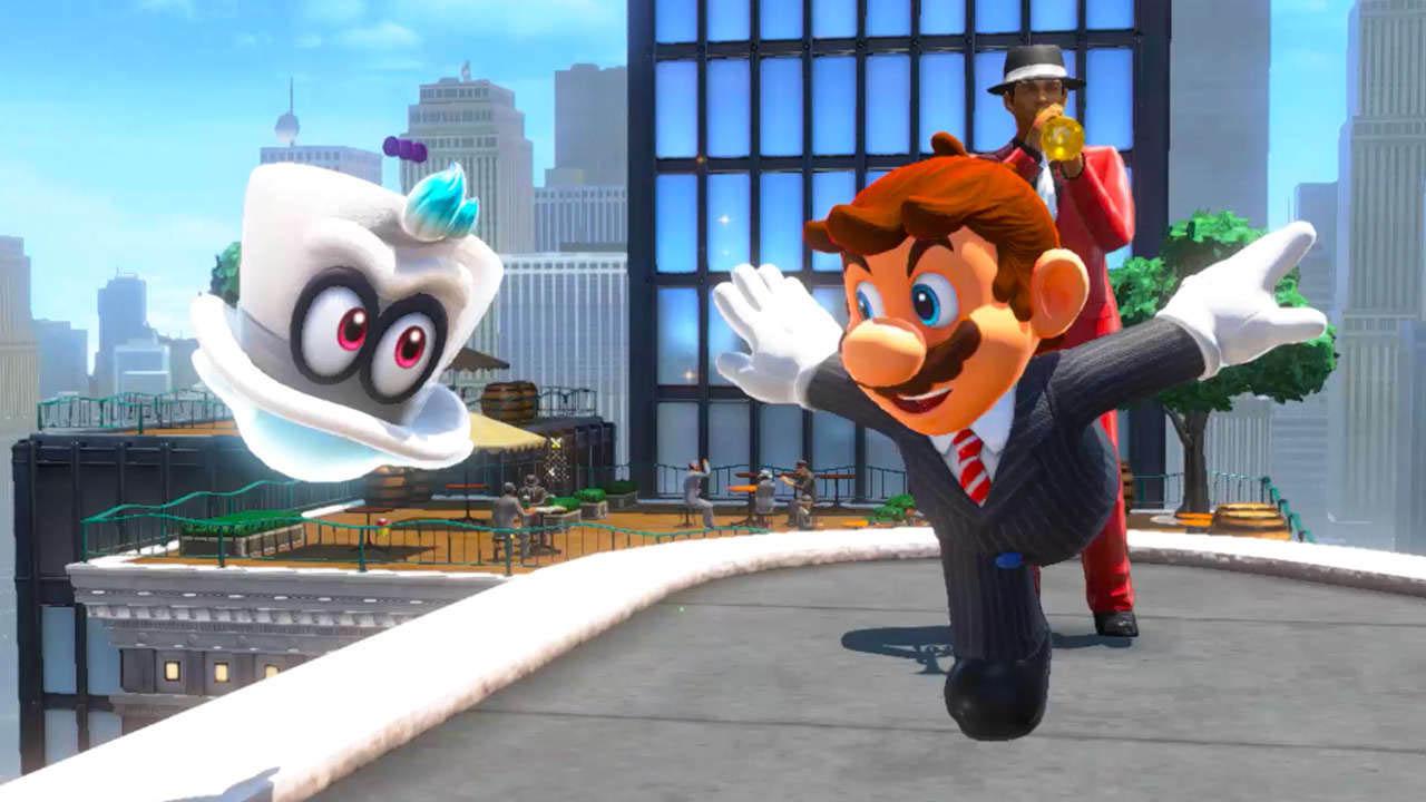 Mario Odyssey Switch Review Stg