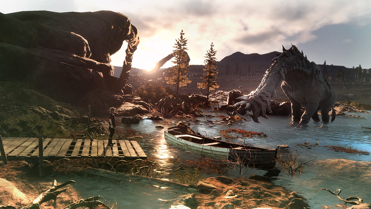 Final fantasy xv monsters of the deep psvr review stg for Final fantasy 15 fishing guide