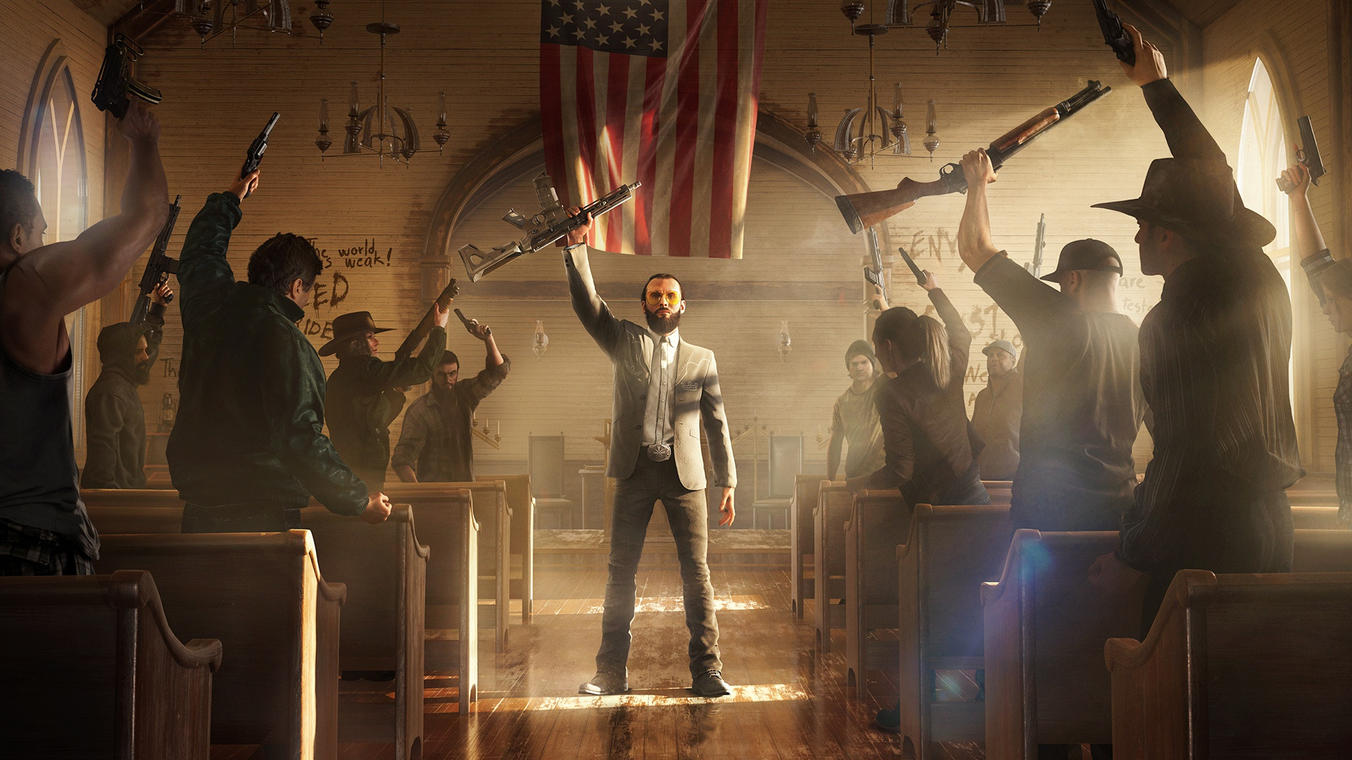 Far Cry 5 Playstation 4 Pro Review Stg