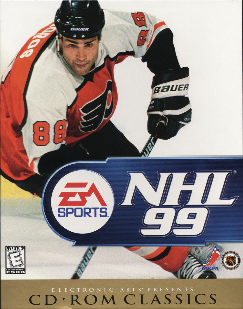 NHL 99 19 Wayne Gretzky EA Sports