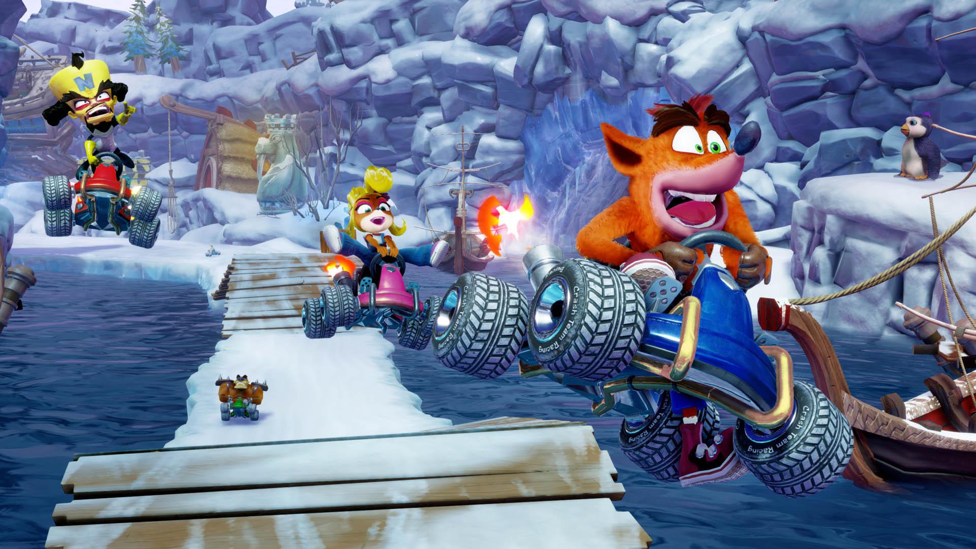 Crash Bandicoot Racing