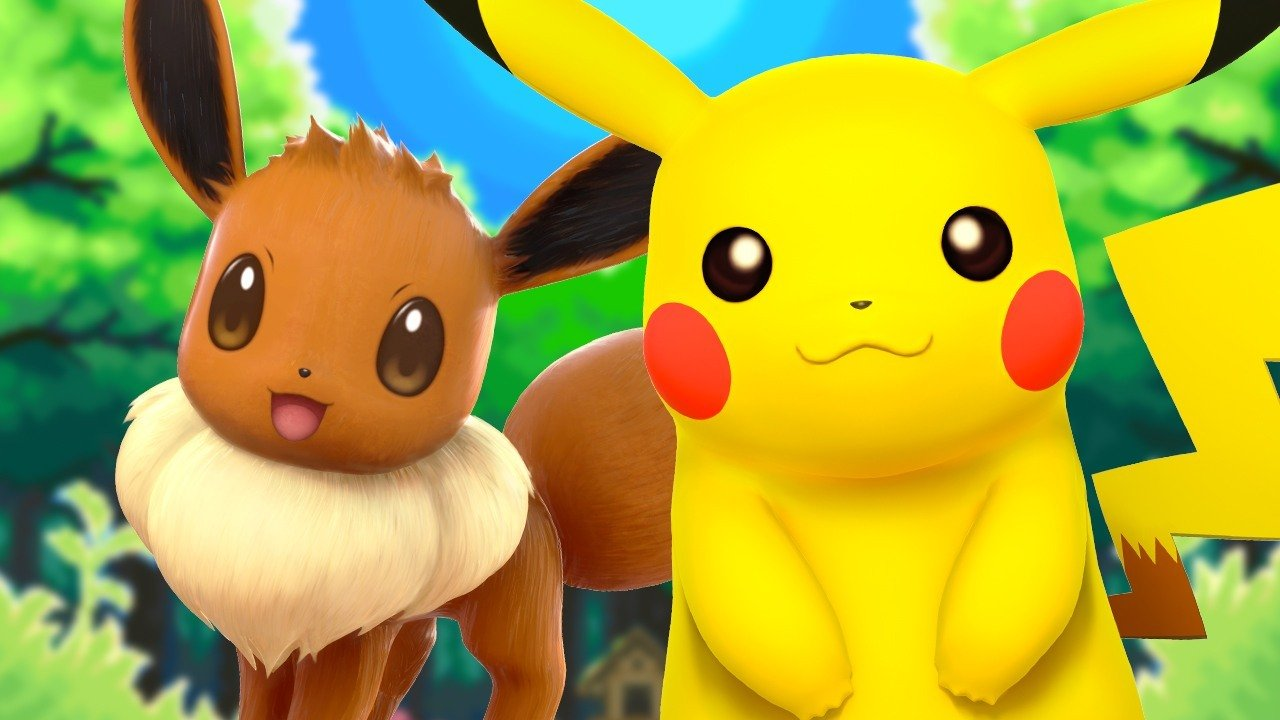 Pokemon Lets Go Switch