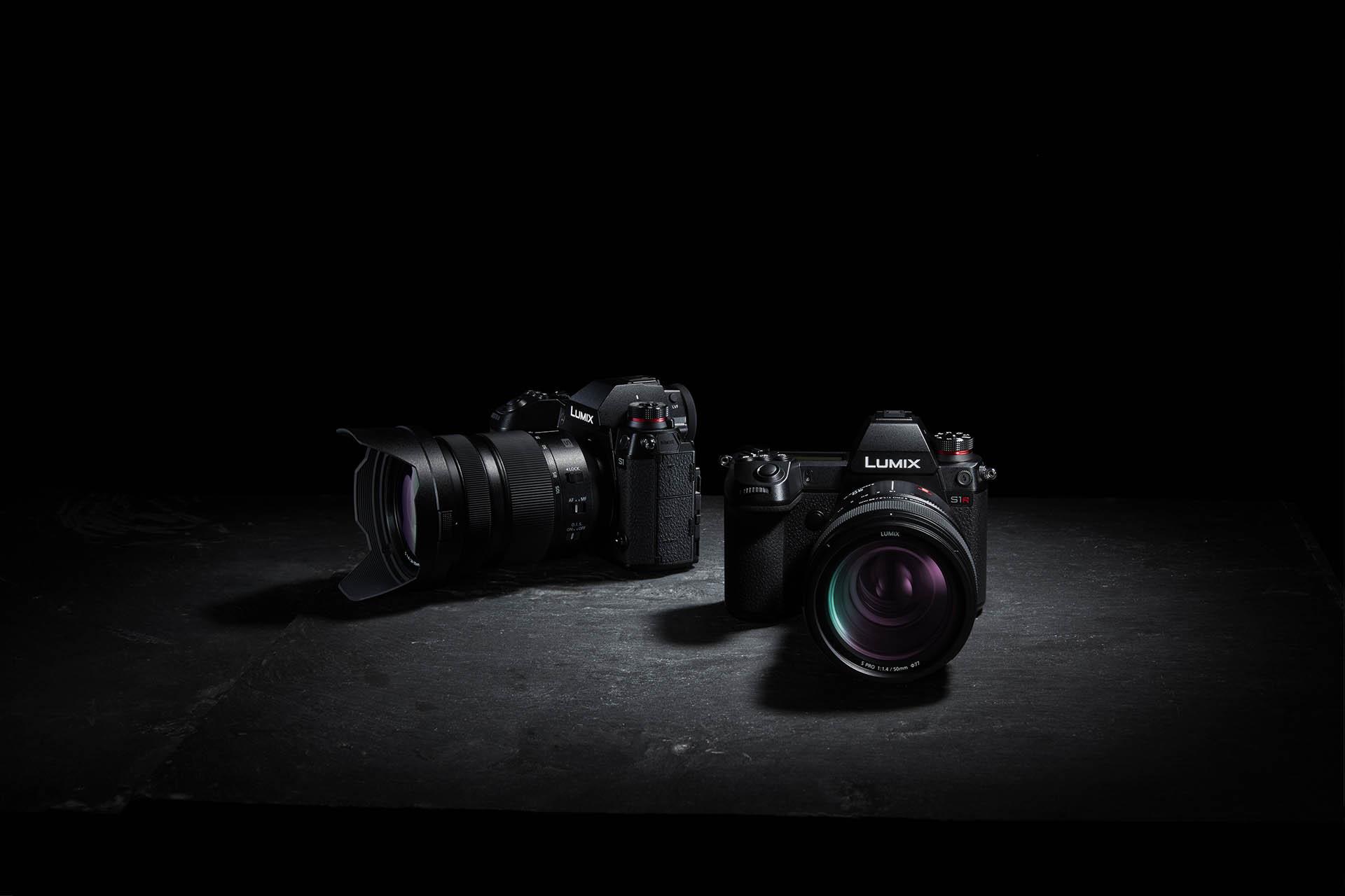 Panasonic LUMIX S1R and S1