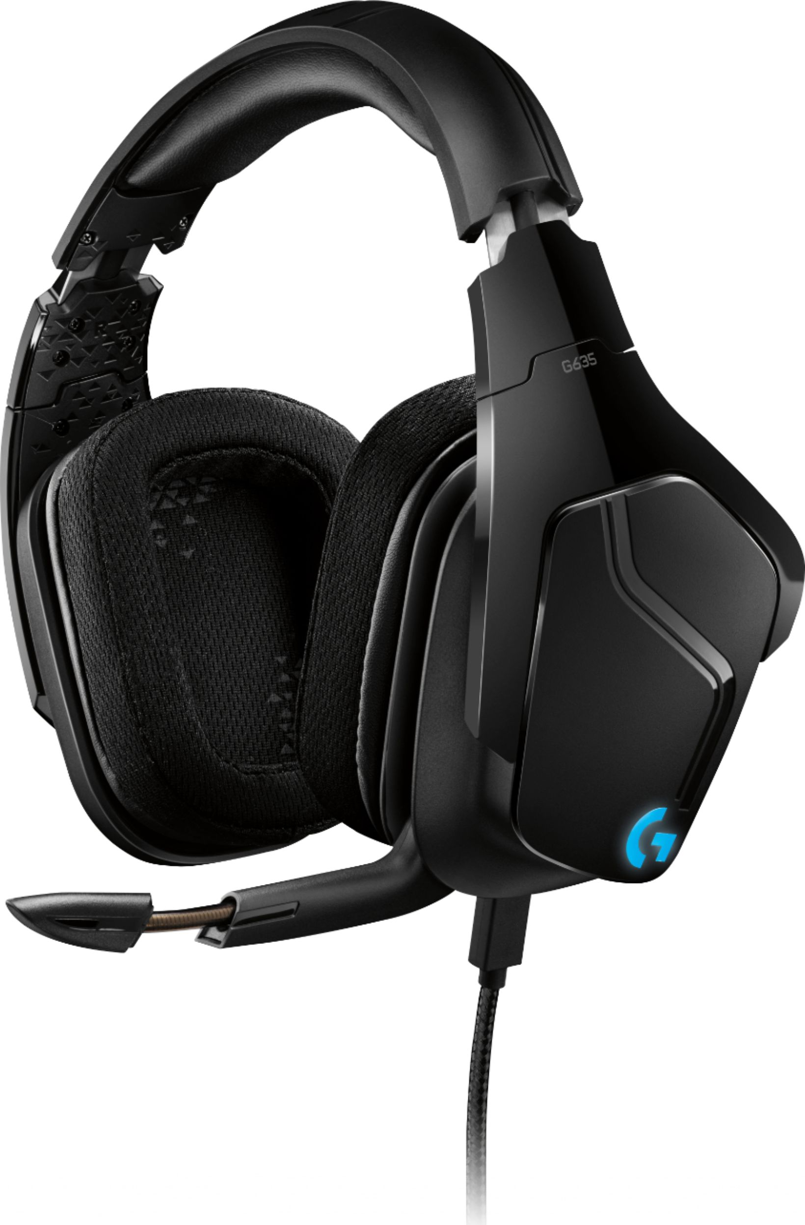 Logitech G635 7.1 LIGHTSYNC Wired Gaming Headset