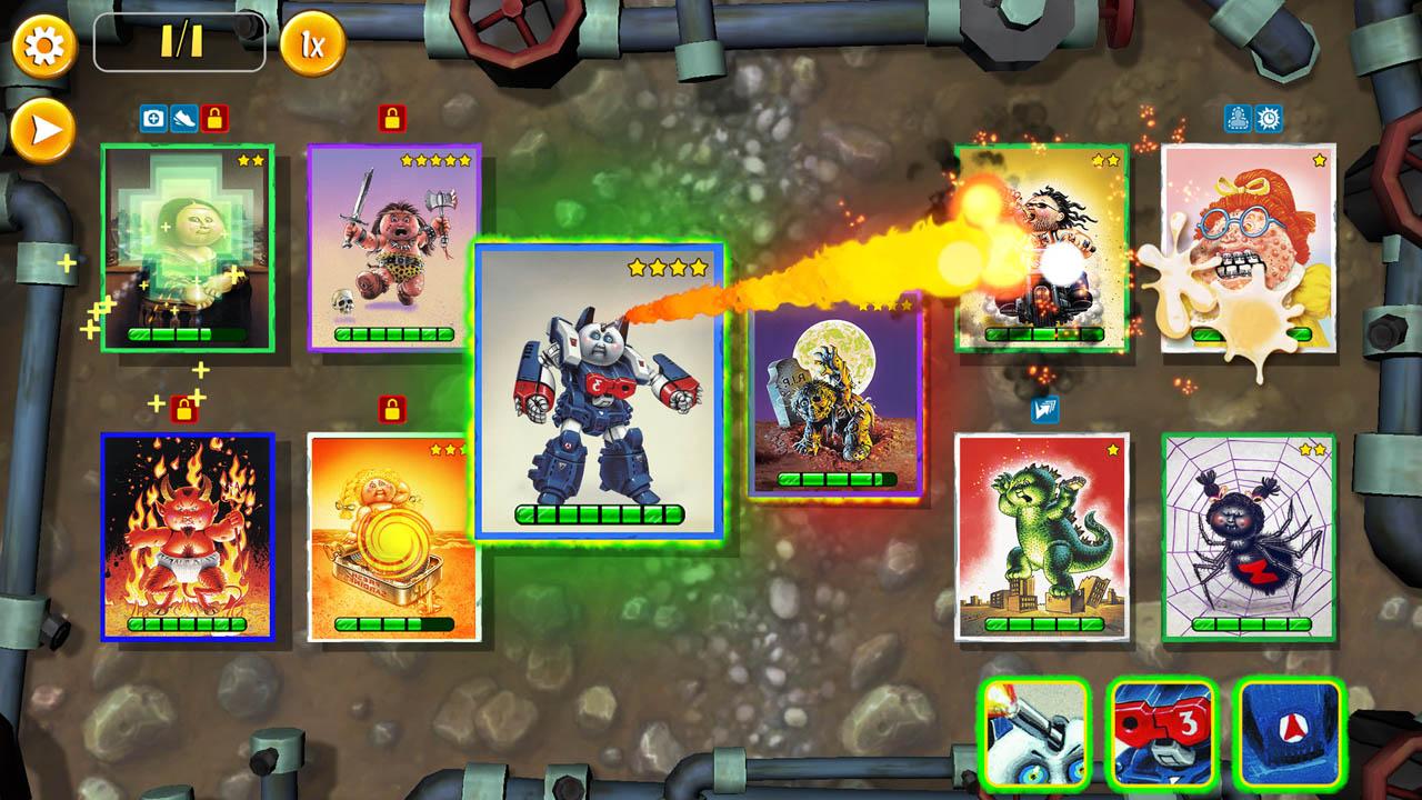 Garbage Pail Kids - Game iOS