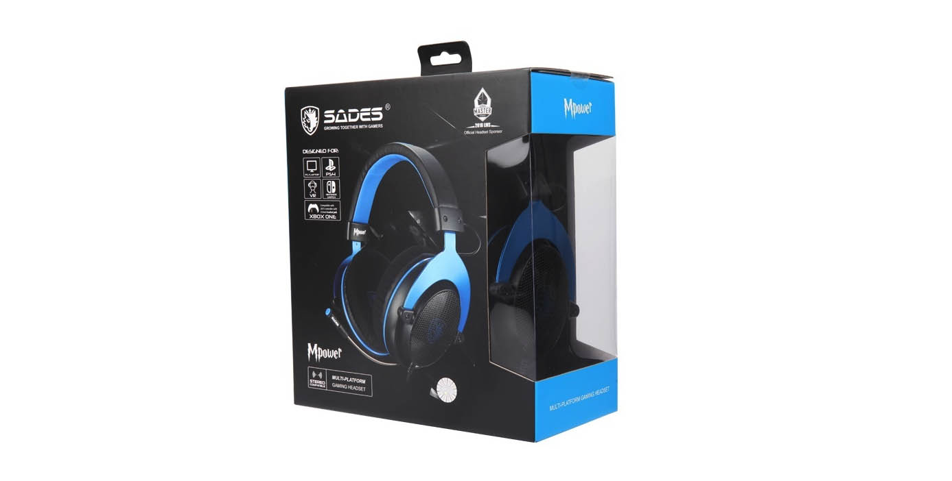 SADES MPower Gaming Headset